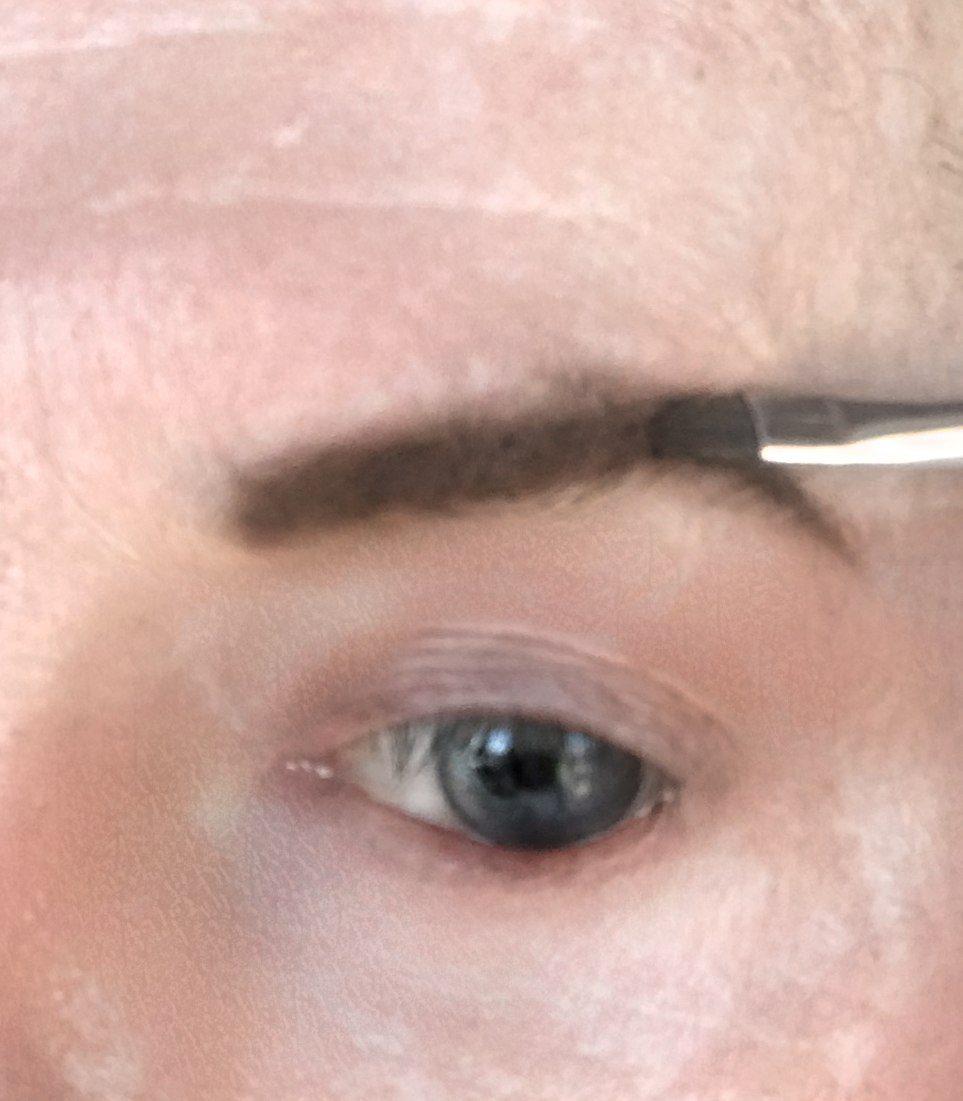 crossdresser makeup brow definition